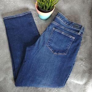 Paige Brigitte Enchant Jeans Crop Size 30
